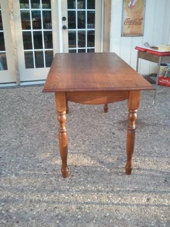 Wife's Oak Sewing Table