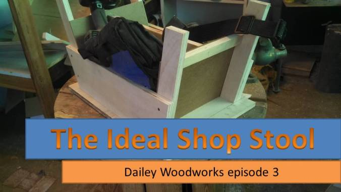 The Ideal Shop Stool