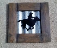 Cowboy Rustic Art